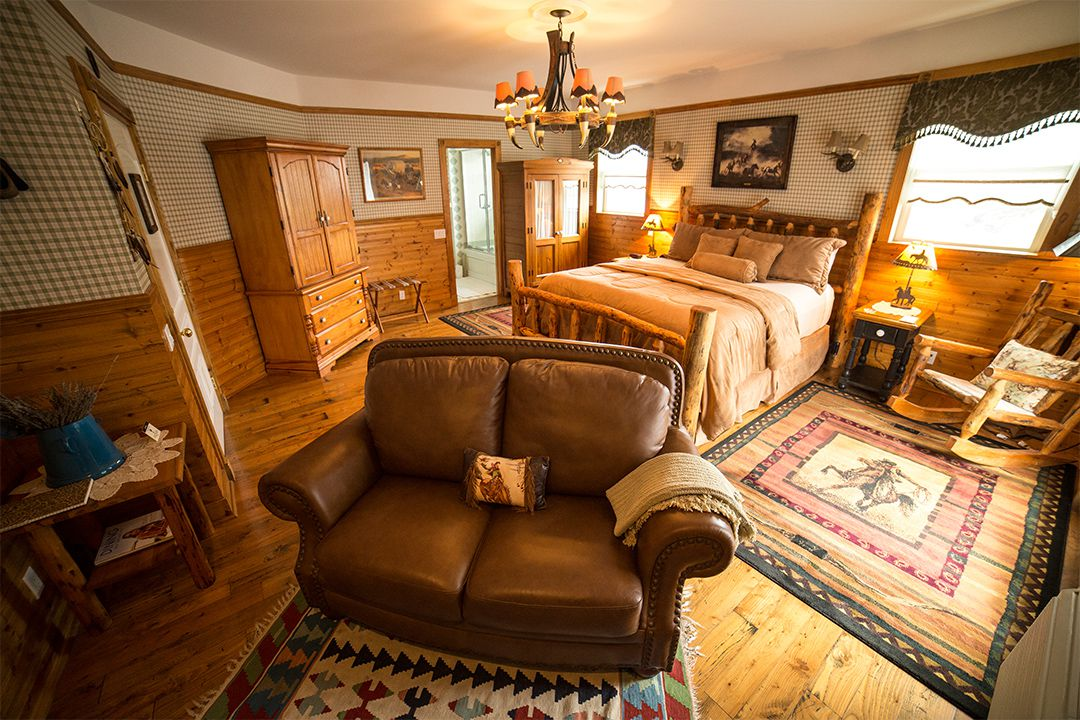 Rustic Comfort of Our Buttonwood Room