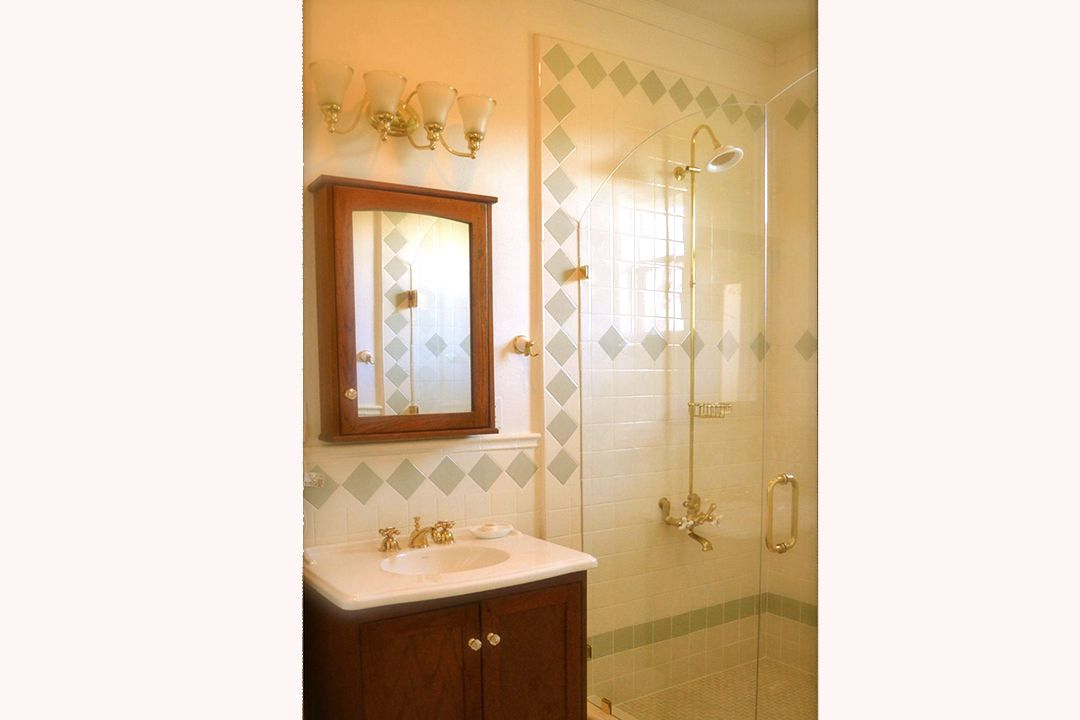 A Walk-in Shower for Two in Our Artiste Room Master Bath