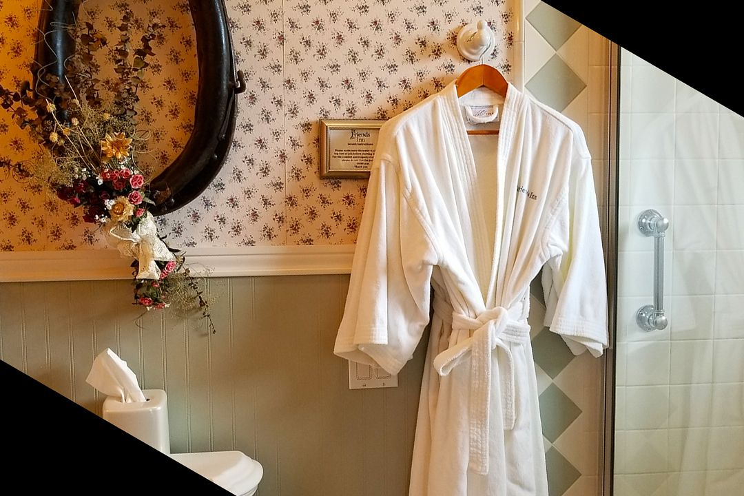 Luxurious Bath Robes in Every Room - Including Buttonwood