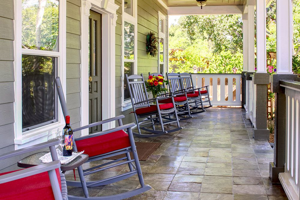 Relax On a Front Porch Full of Rockers