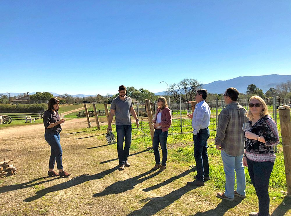 Private Tours at Mckinney Family Vineyards