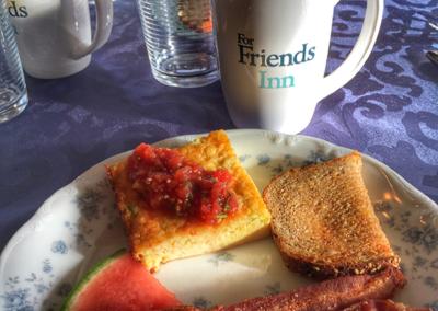 ForFriends Inn 3-Course Breakfast