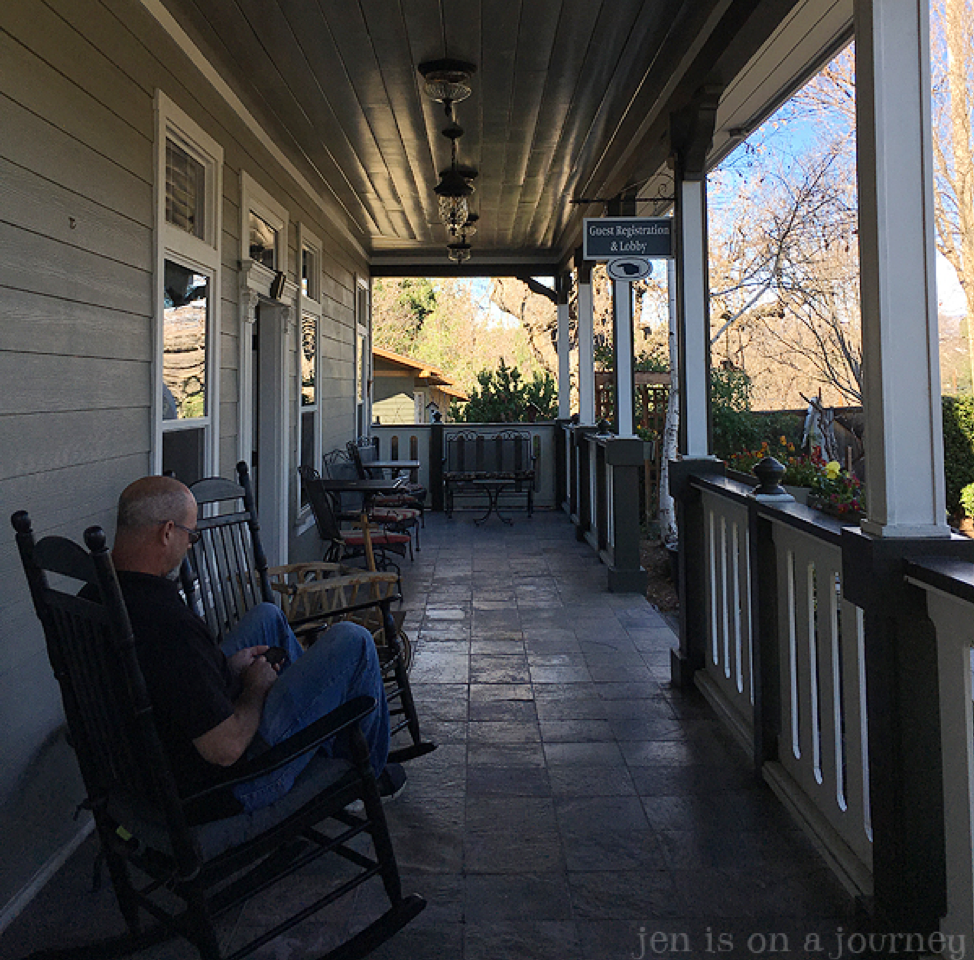 ForFriends Inn, Santa Ynez, CA, Front Porch