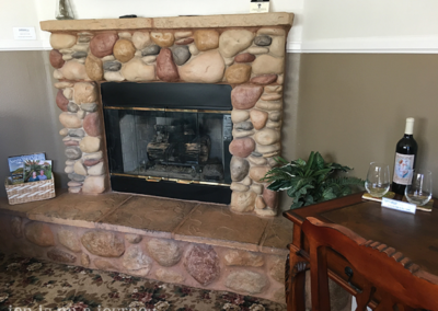 ForFriends Inn Imagine Room Fireplace